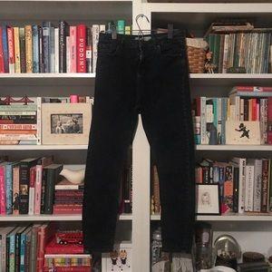Dark denim Topshop Jamie Jeans